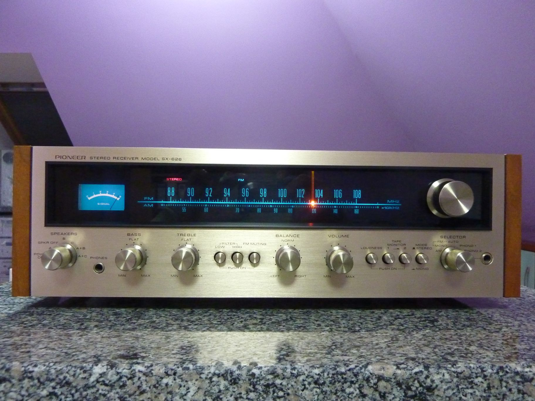 PIONEER SX-626-Receiver 1